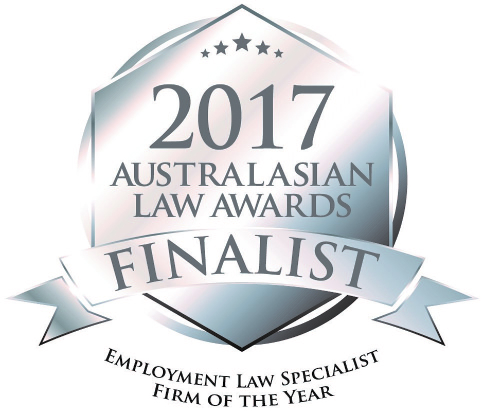 2017 Australasian Law Awards Finalist